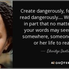 Create Dangerously: As If Someone's Life Depends On It