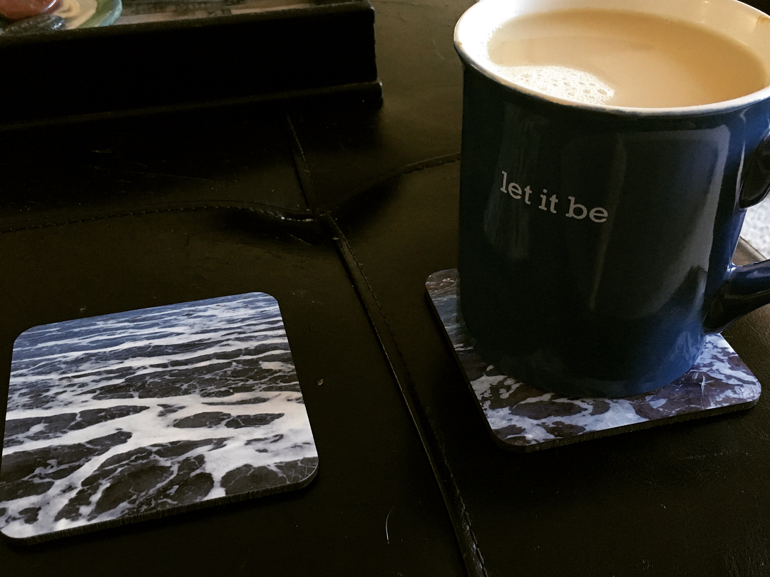 My new coasters from jjakeartgallery are almost too pretty tohellip